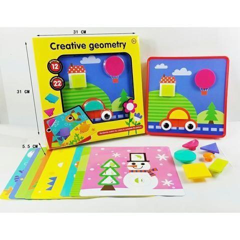 Мозаика Креативная Геометрия - Creative Geometry, игрушки развивашки
