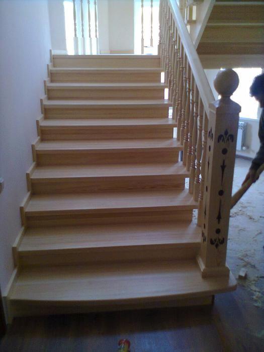 Изготовление и установка лестниц