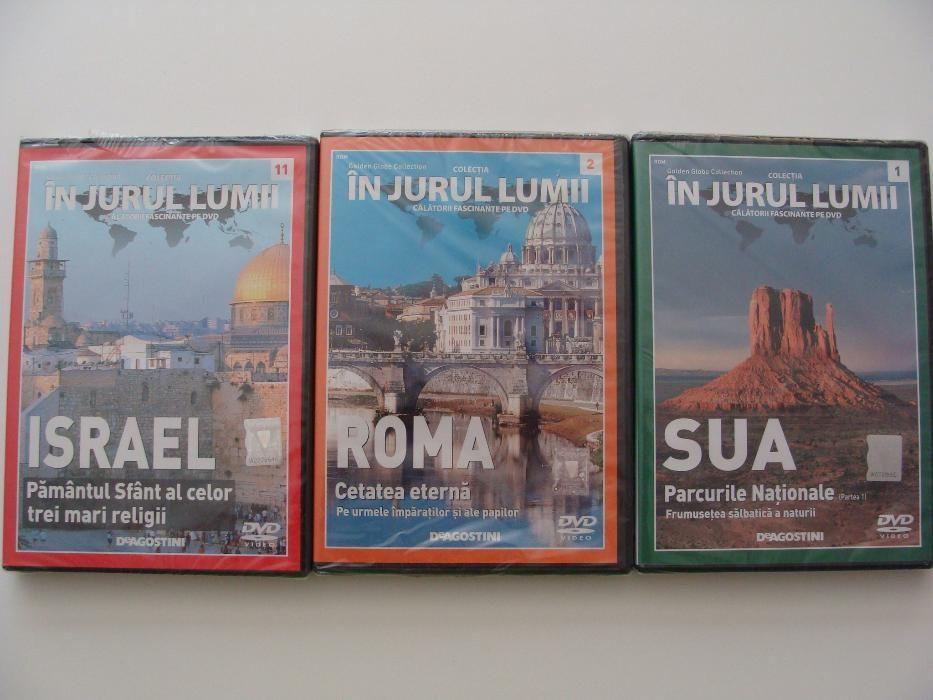 In jurul lumii, calatorii fascinate pe DVD - DeAgostini (3 Vol.)