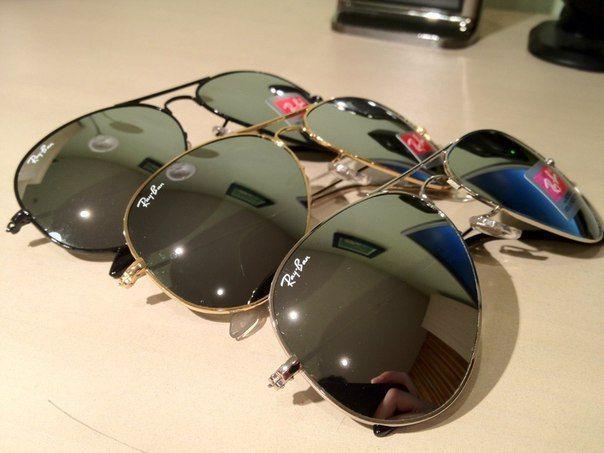 Солнцезащитные очки Ray-Ban Aviator. Распродажа!