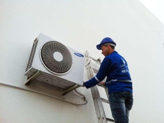 Montagem de ar condicionados com preços de negociação ligo e montamos