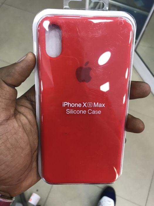 Capas de silicone para iPhone Xs Max