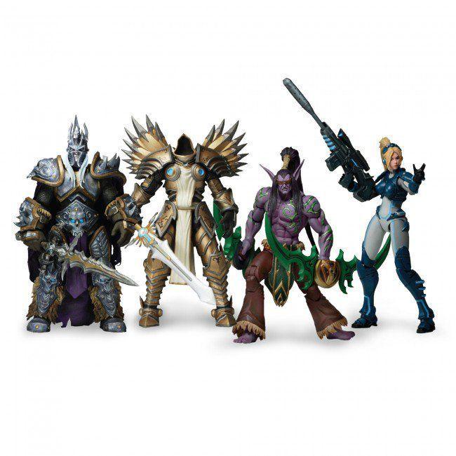 Figurina Arthas, Illidan Tyrael Nova World of Warcraft Diablo wow NECA