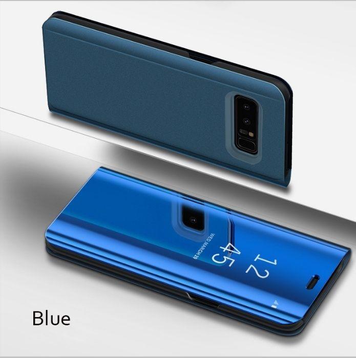 Samsung S9 S9 Plus - Flip Case Clear View Oglinda Mirror