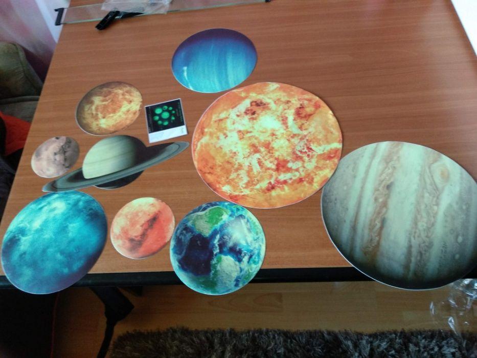 Sticker sistemul solar planete NOU