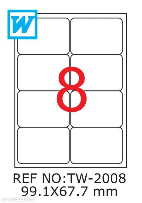 Etichete A4 autoadezive