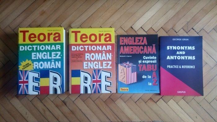 Dictionar englez-roman/roman-englez, carti engleza