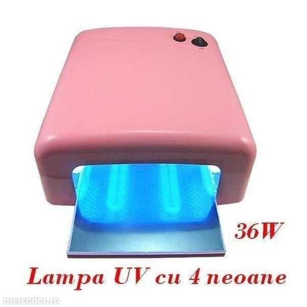 Kit set manichiura unghii false- lampa UV,pila,geluri ccn,tipsuri-BEST Bucuresti - imagine 2