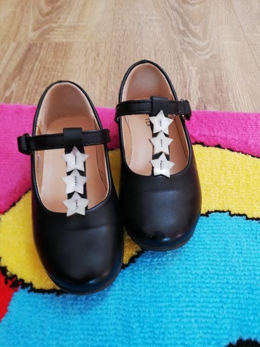 Pantofi negri fetite