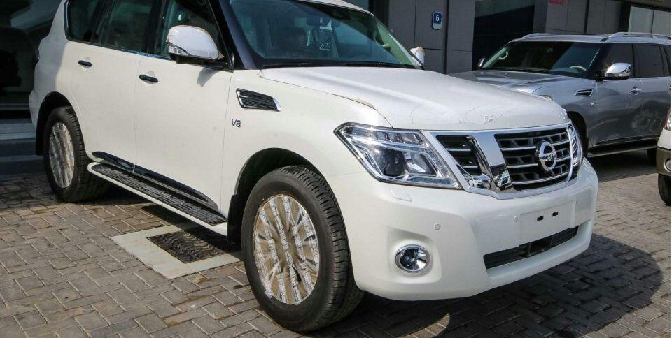 Nissan patrol platinium a venda