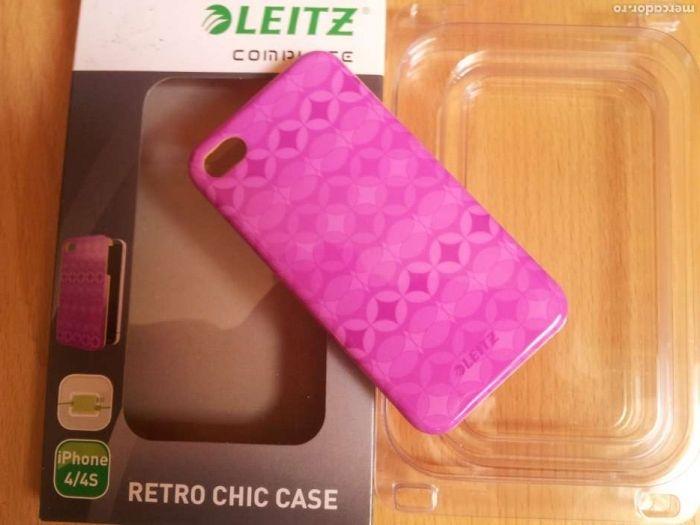 Carcasa ORIGINALĂ iPhone 4/4S LEITZ Complete ,WOW