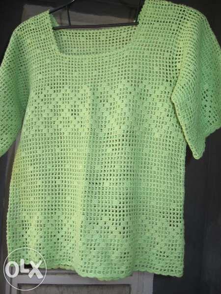 Блуза - ръчно плетена от ПАН