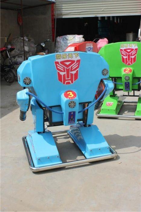 Роботы. Рикши.