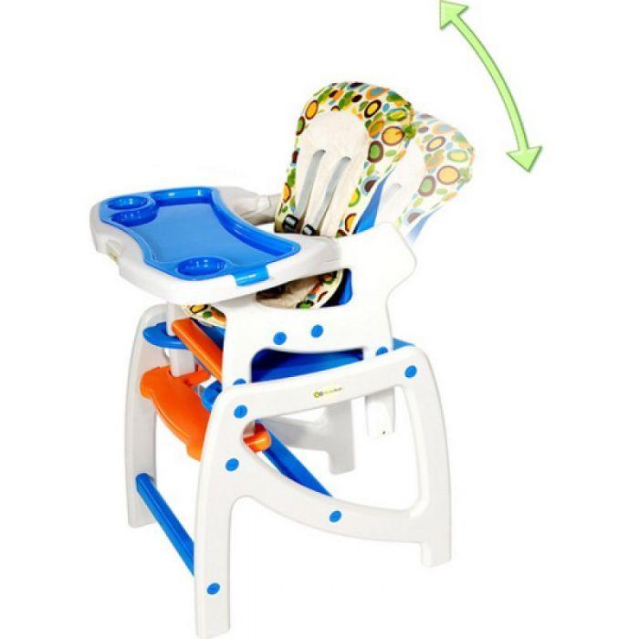 Scaun de masa multifuncțional/ balansoar/ măsuță Kinderkraft