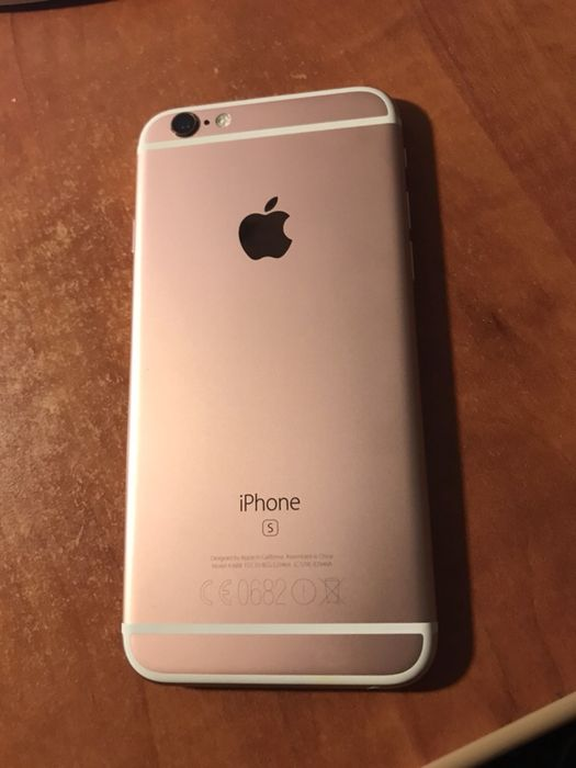 Carcasa capac spate original Iphone 6S rose gold nou nout neatins!!