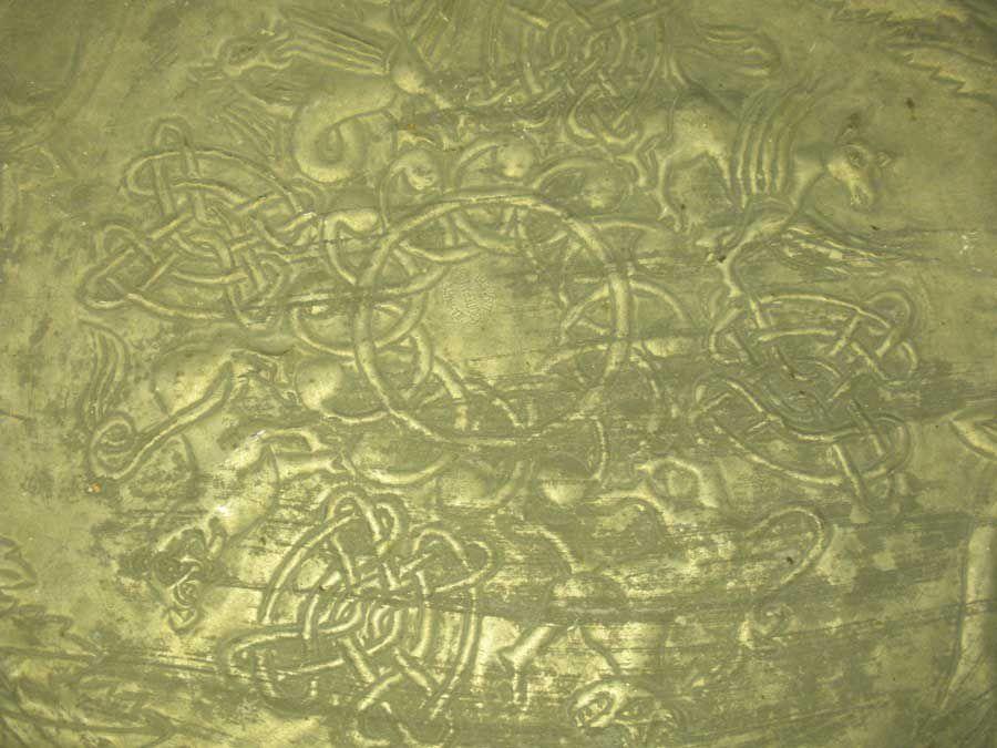 ръчно ковани бакърени тави