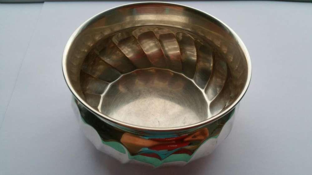 Vand recipient / bol / vas / pahar / cana argint, botez