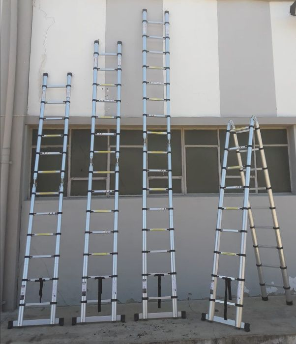 Escadotes telescópicos de alumínio de alta qualidade Modelo KME3050