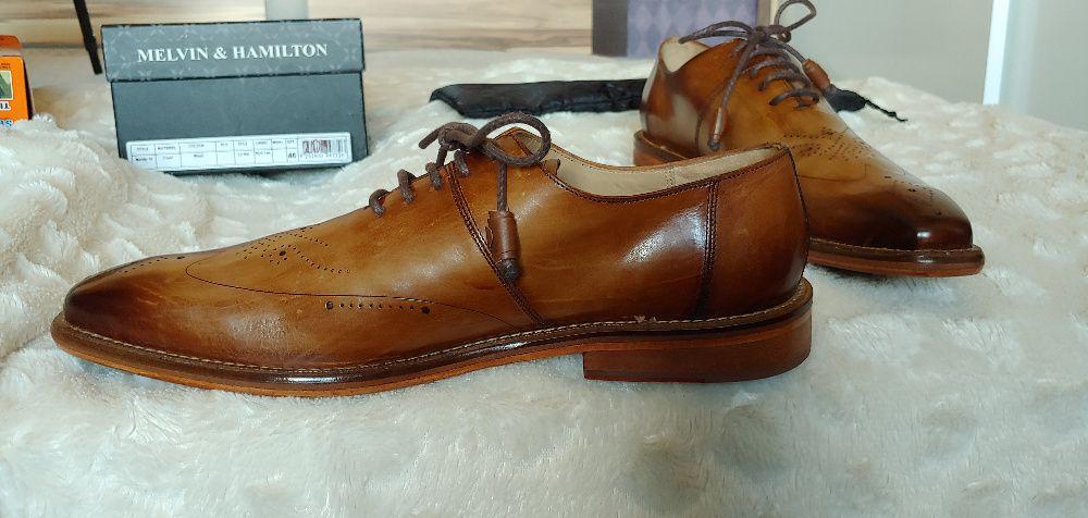 Официални луксозни обувки марка Melvin & Hamilton