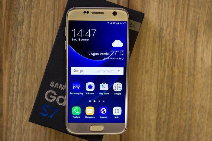 Samsung Galaxy S7 32GB novo selado