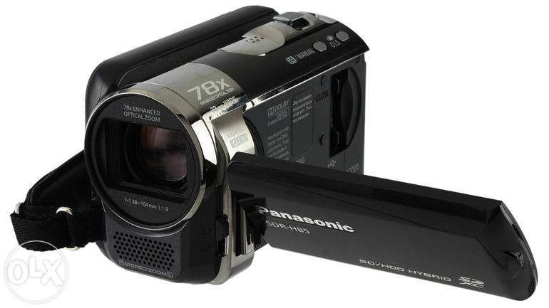 CAMERA VIDEO digitala PANASONIC 80 GB HDD + Optional SD Card