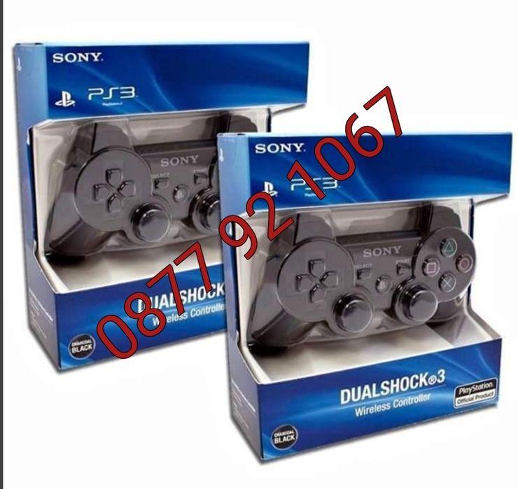 Джойстик за SONY Playstation 3 ОРИГИНАЛЕН БЕЗЖИЧЕН PS3 Dualshock 3
