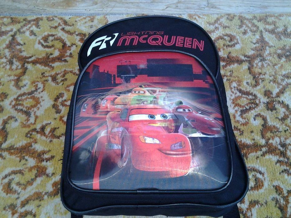 Disney Cars McQueen / ghiozdan / rucsac 30 x 24 x 12 cm