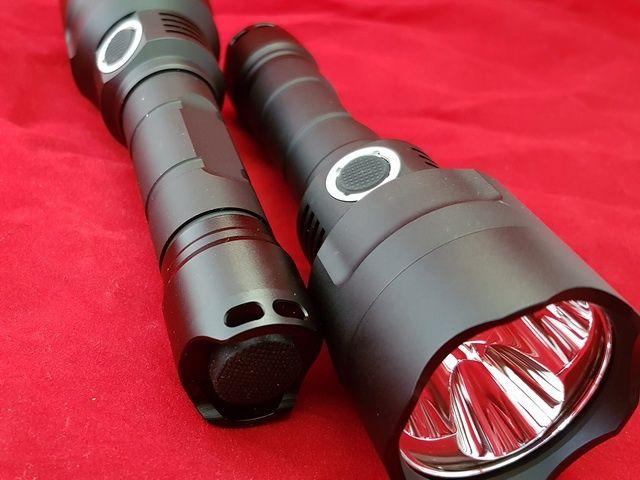 Мощен( 3500лм, 140 000 кандели) 3 емитерен далекобоен прожектор SS с д