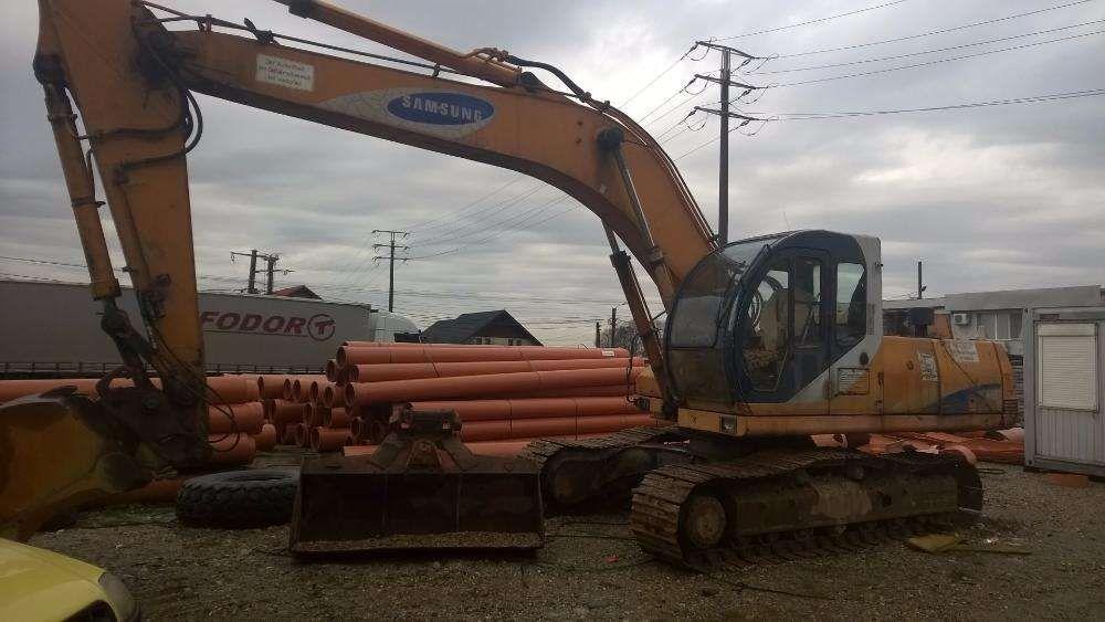 Excavator Samsung SE 210-2, pompa hidraulica, hidromotoare,mars,cabina