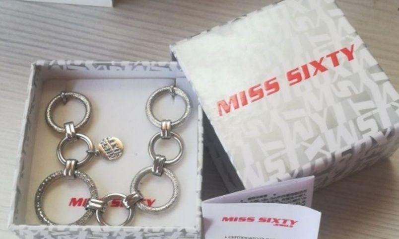 ПОСЛЕДНО НАМАЛЕНИЕ!Чисто нови сребърни пръстен и гривна Miss Sixty