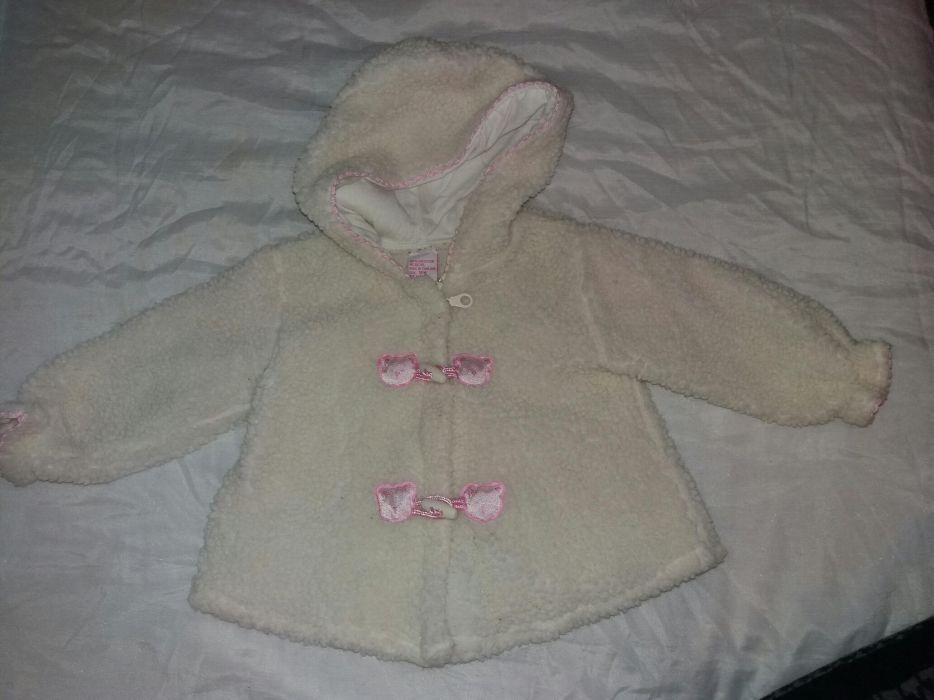 Бебешки к-т за 1.5 г.за момиче.Палтенце и дебела грейка долнище.
