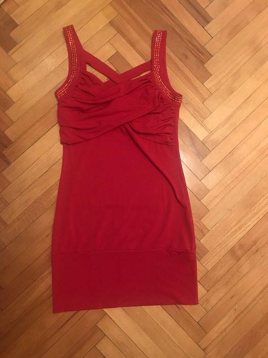 Rochie roșie scurta