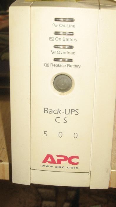 юпс APC Back-UPS CS, 500
