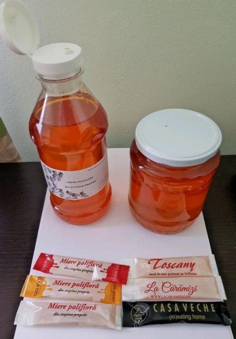 Miere de albine - miere naturala - Miere horeca ambalata pentru HORECA