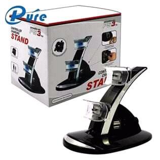 Stand PS3. Carregado 2 joysticks em simultâneo