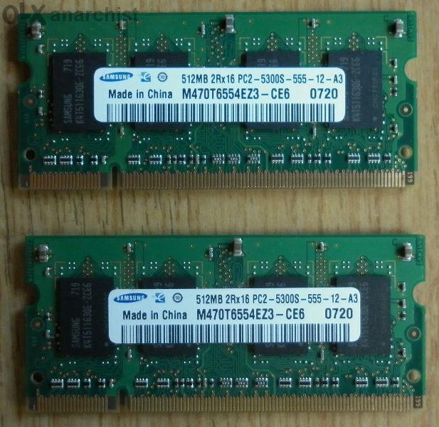 Рам памет за лаптоп 512MB DDR2