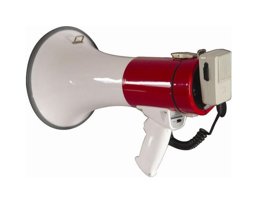 Portavoce Mare (Megafon) cu Microfon Extern 50 W