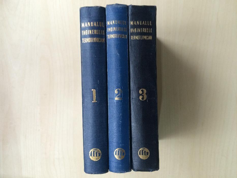 Manualul inginerului termotehnician (3 Volume)
