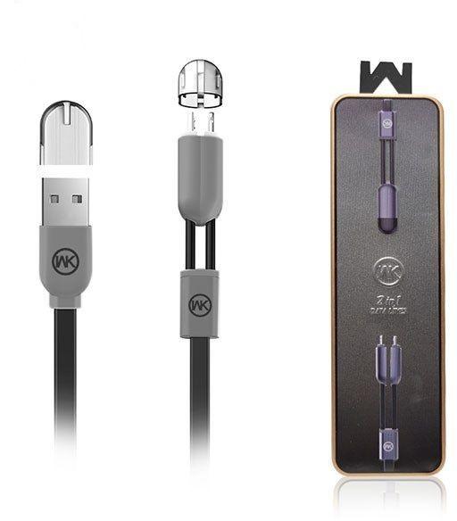 Cabo Micro USB Gemini WDC-001 Iphone e Samsung