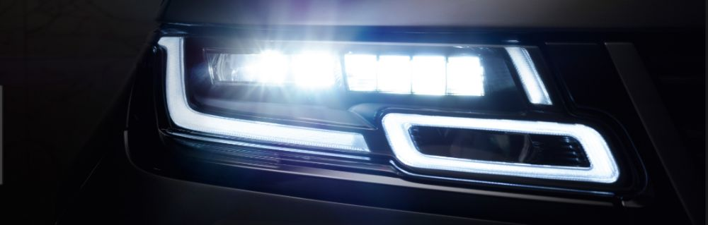 Land Range Rover VELAR Headlight LED Super SLIM MATRIX LASER Faruri
