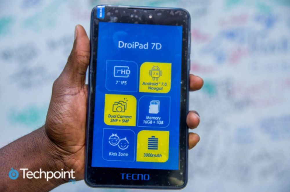 Tecno Tablet DroidPad 7D *novo na caixa*