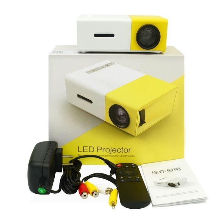 РАСПРОДАЖА!!! YG300 LED projector проектор