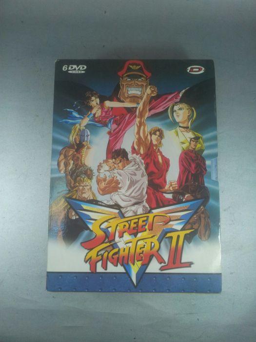 Street Fight ll colectie Dvd din 1994 original 6 piese