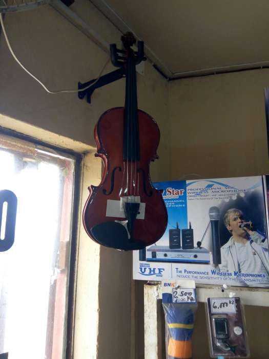 Violino nova profissional proviniente d Malásia