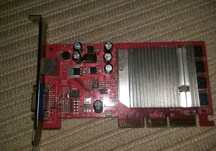 Place video Geforce FX 5200 cu TV-Out AGP 8x 128Mb