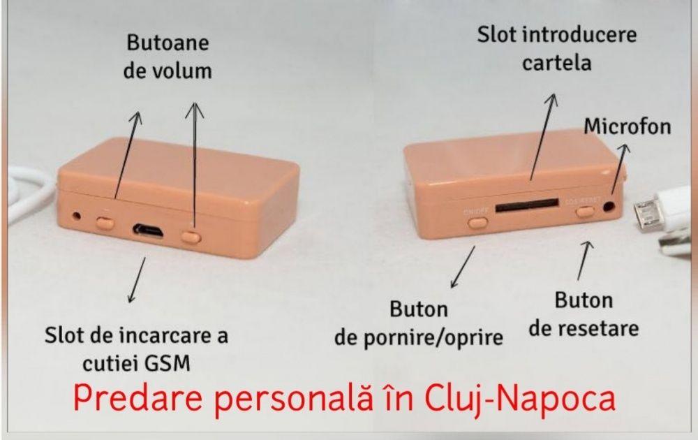 Vand/Inchiriez sistem de copiat, cutiuta gsm cu microcasca japoneza