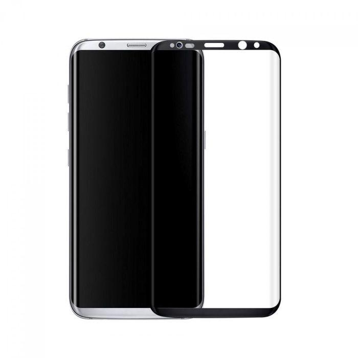 Стъклен протектор за Samsung Galaxy S9 G960 Edge FullFace версия Черен