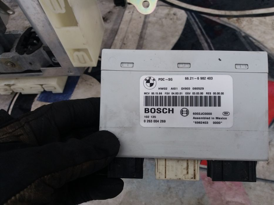 Modul pdc ,modul senzori parcare fata spate bmw e90,e91,e92,e93