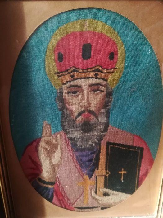 Goblen icoana Sf. Nicolae sfintita
