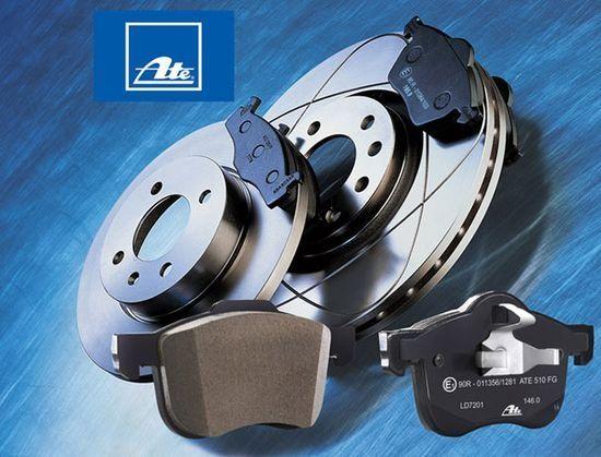Спирачни дискове и накладки Ate TRW за Mercedes Audi VW BMW Opel Skoda